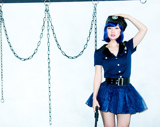 police×Party Color ボブのモデル写真