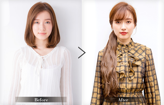 Before Afterの写真